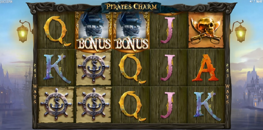 Welcome to the Pirates world in Video Slot Pirate's Charm