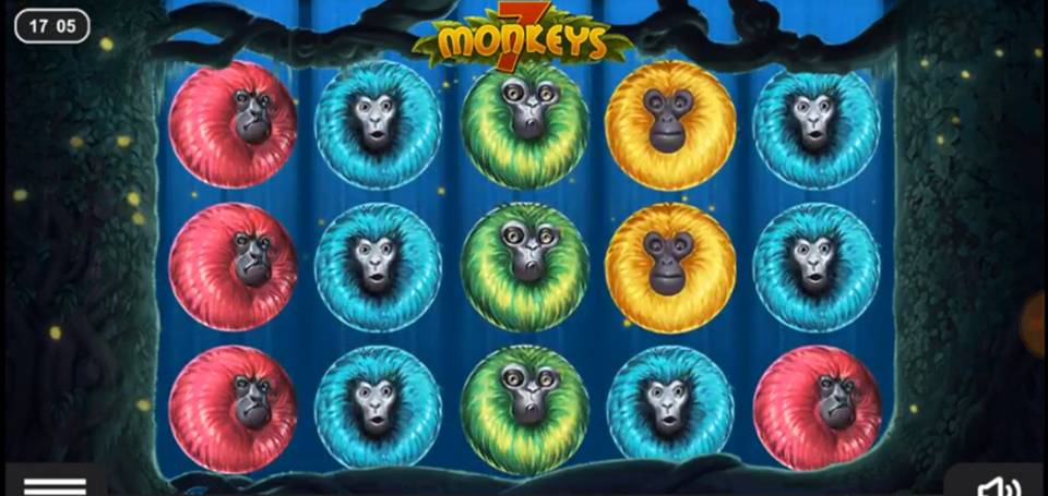 7 Monkeys Slot Machine