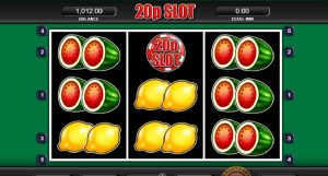 20p Slot - UK top slot