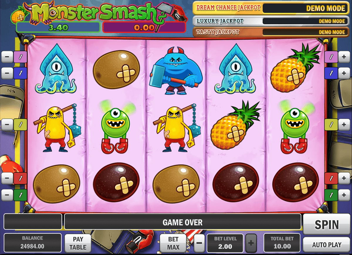 Monster Smash Online Slot