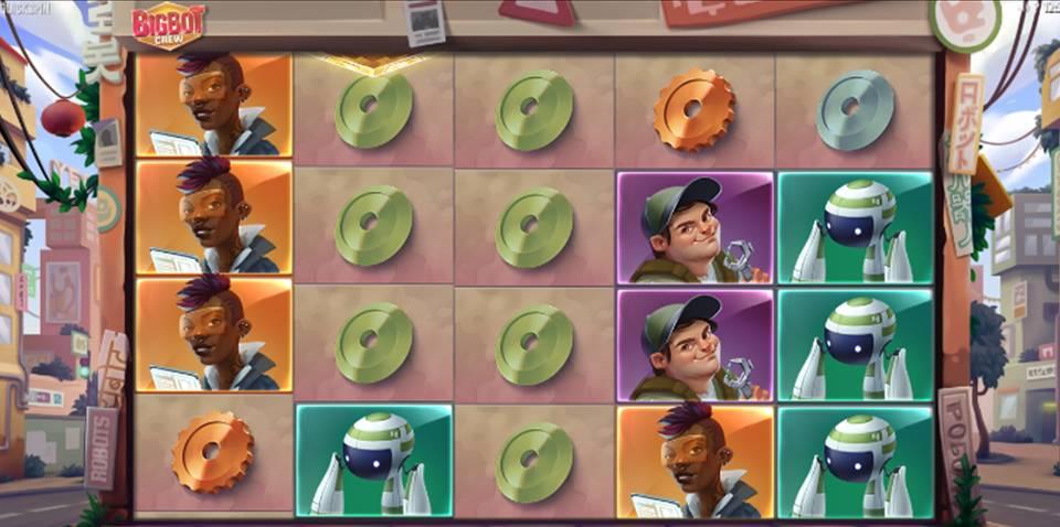 Big Bot Crew Online Slot