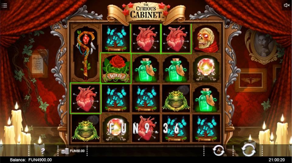 Curious Cabinet Online Slot