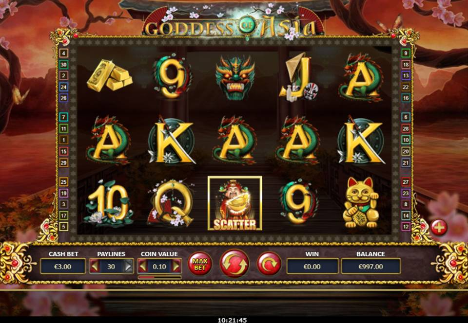 Goddess of Asia Casino Slot