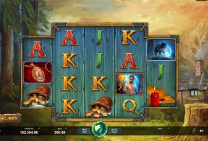 Wicked Tales Dark Red Casino Slot
