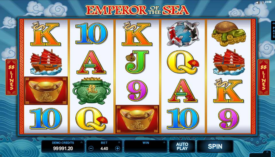 Emperor Of The Sea Online Slot