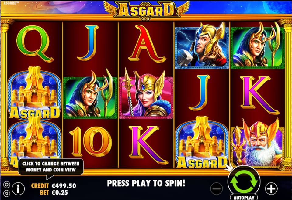 Asgard Casino Slot