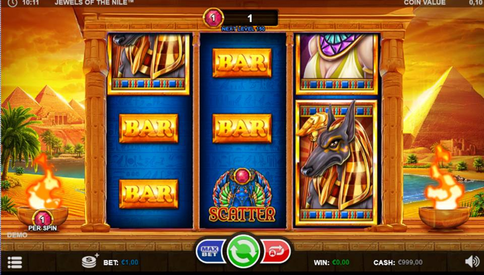 Jewels Of The Nile Casino Slot