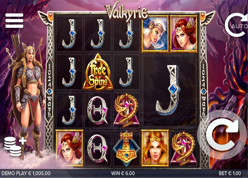Valkyrie Online Slot