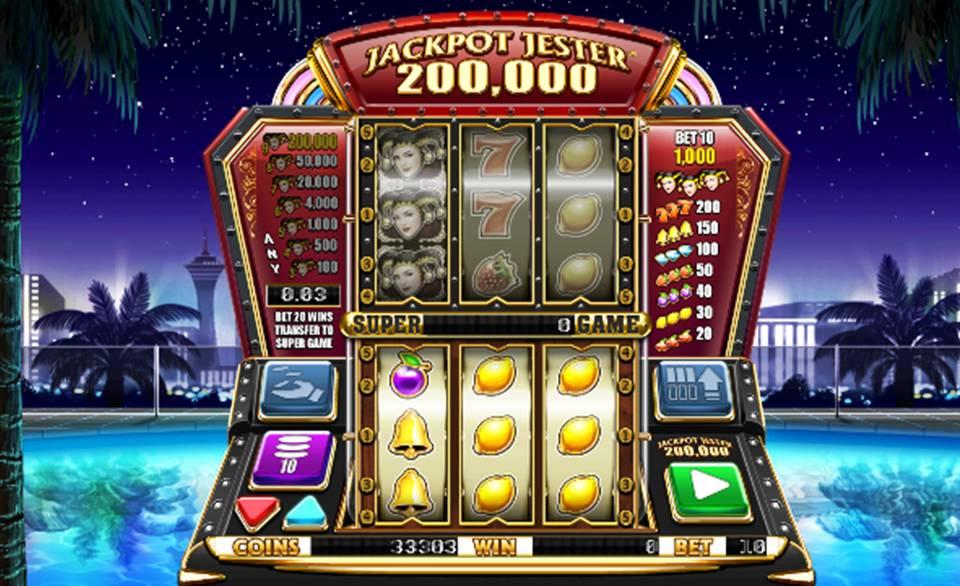 Jackpot Jester 200,000 Casino Slot