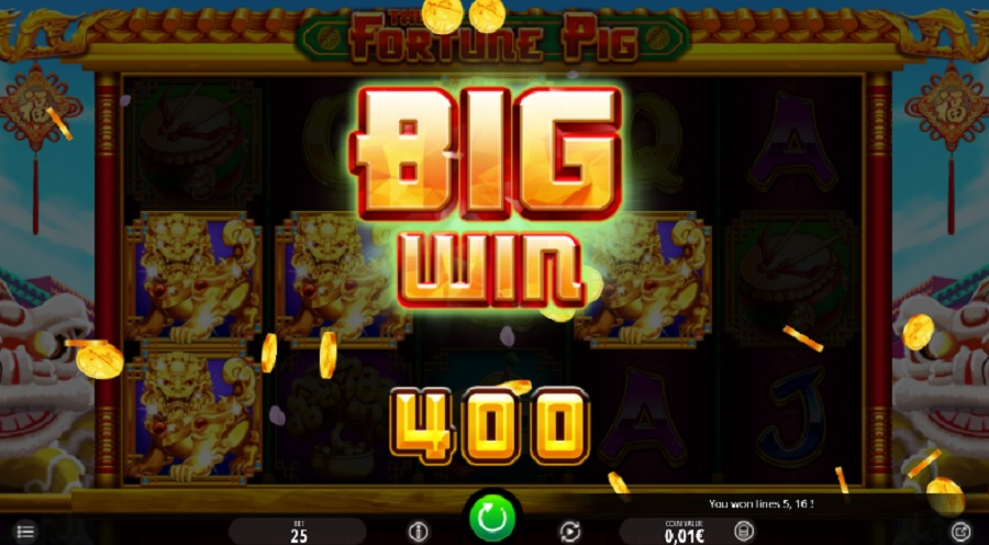 Big win online slots real money