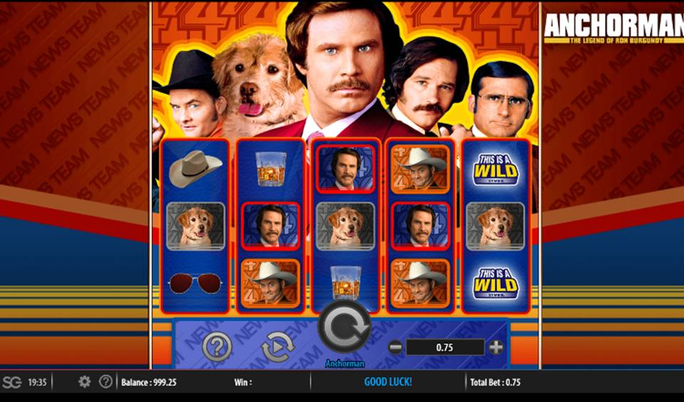 Anchorman Casino Slot