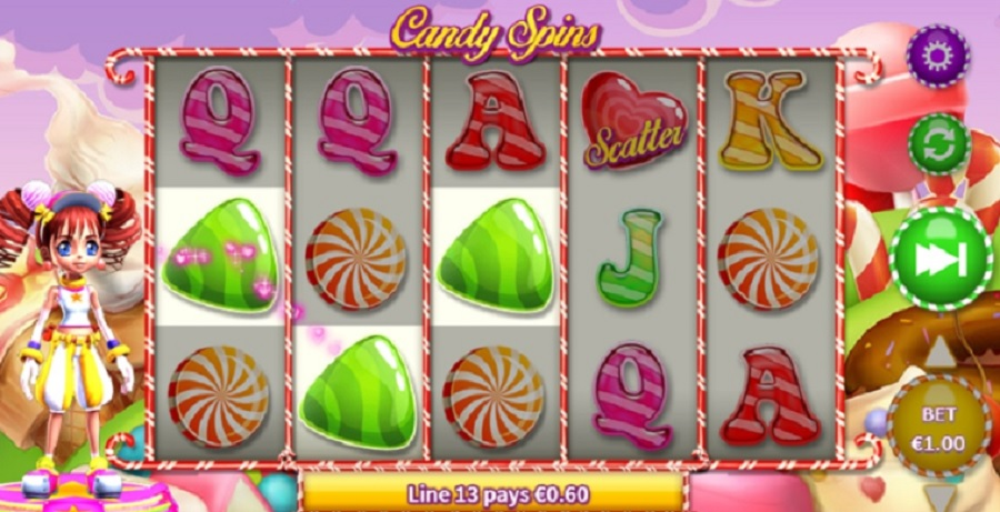 Candy Spins