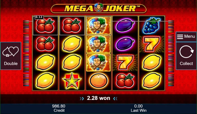 Mega Joker is the number 2 slot game in Norway